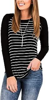 cute striped long sleeve shirts