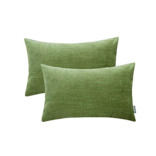 Green and Linen Couch Pillows: Amazon.com