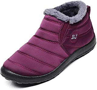 HAVINA Womens Warm Snow Boots Outdoor Fur Lining Winter...