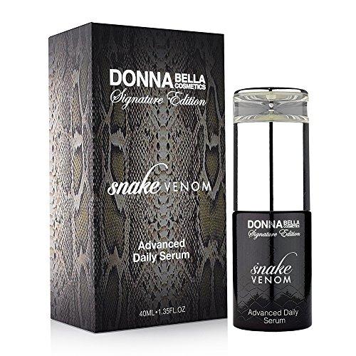 Donna Bella Cosmetics - Sérum quotidien avancé de venin de serpent
