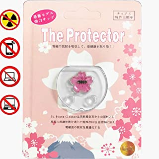EMF Protection Radiation Device – Radiation Protection for All Electronic Devices - Cell Phone, Laptop, Smartpad - EMF Protection Product 1 Pack (Pink)