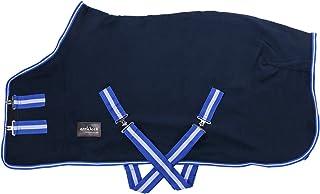 7 0/cm stable Cooler Tailles au choix Neuf Cheval COB Poney Show de voyage Noir Polaire Tapis 3/6