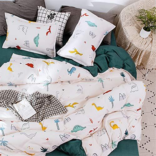 Fansu 4-teiliges Bettwäsche-Set