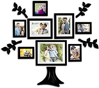 Art Street Wall Photo Frame with Wall Shelf Mix Size