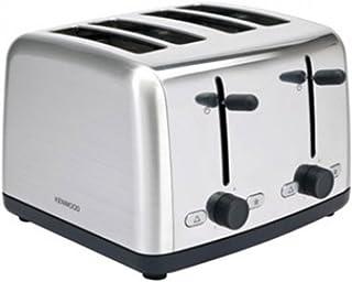 Kenwood 4 Slice 1800 Watts Toaster, Silver, TM480