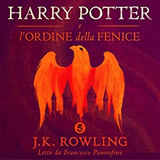 Harry Potter e l'Ordine della Fenice (Harry Potter 5) audiobook cover art