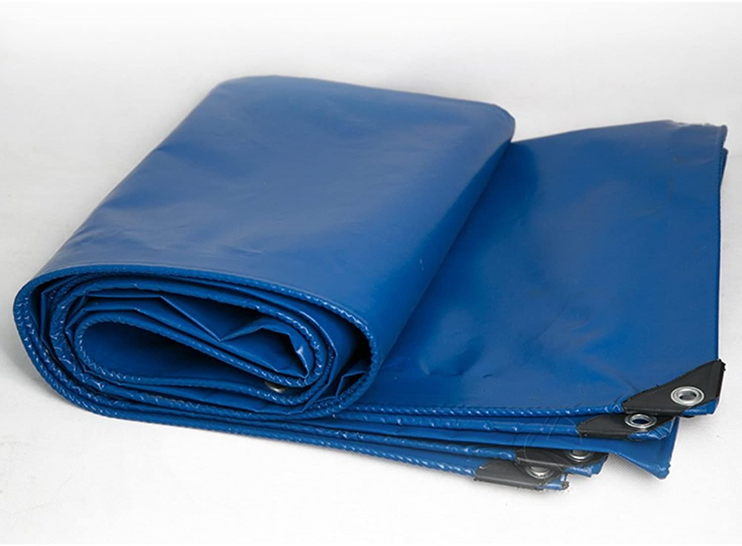 ZRTarps Tarp Cover blueee Heavy Duty Thick Material, Waterproof, Great for Tarpaulin Canopy Tent, Boat, RV or Pool Cover  450g m2 Thickness 0.43mm Outdoor Equipment (Size   5  6m)