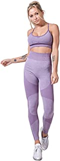 Sportswear Set Gym Clothes Set Exercise Outfits for Women 2 Pieces Seamless Yoga Outfits Sports Bra and Leggings Set Track...