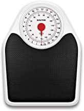 Salter Doctor Style Mechanical Bathroom Scales – Retro White + Black Accurate Weighing