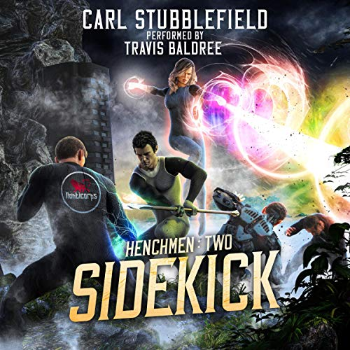 Sidekick Audiobook By Carl Stubblefield cover art
