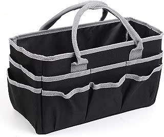 Jjring Fundamental Organizer 600D Nylon Artist Tote Bag, Silver Edge