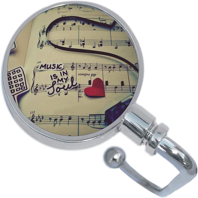 Music Is In My Soul Purse Hanger