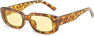 Rectangle Sunglasses for Women Retro Driving Glasses 90's Vintage Fashion Narrow Square Frame...