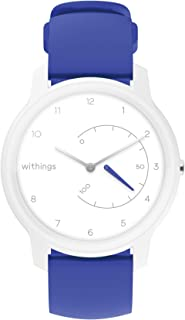 Withings Move Hybrid Smartwatch - Activity Tracker with Connected GPS, Sleep Monitor, Water Resistant with 18-month battery life