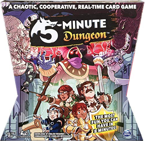 5 - Minute Dungeon Fun Card Game for Kids and...