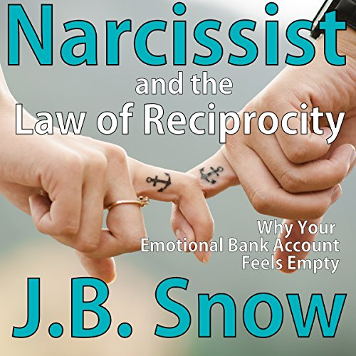 Narcissist and the Law of Reciprocity: Why Your Emotional Bank Account Feels Empty audiobook cover art