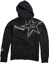 Fox Racing Rockstar Golden Fleece Zip-Up Hoody - Medium/Black