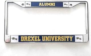 Drexel University Alumni Glossy Print Chrome Frame