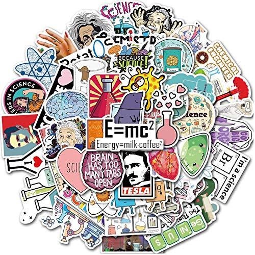 WYZN 50 Pz Laboratorio Cartoon Sticker Personalità Creativo Fai Da Te Bambini Scrapbook Decorazione Notebook Computer Impermeabile Scooter Vinile Adolescente Vsco Graffiti Sticker Decal