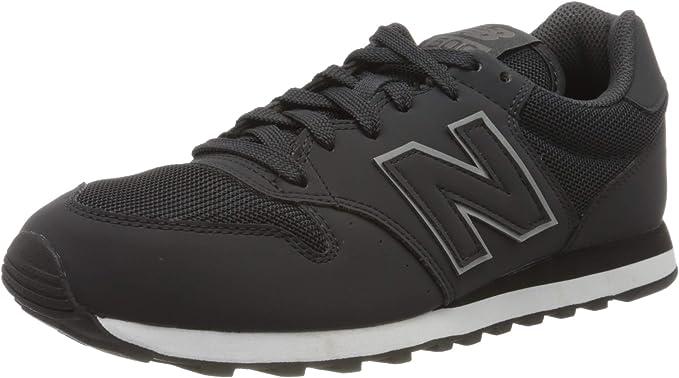 Amazon.com: New Balance 500 Men's Black Sneakers GM500TRX ...
