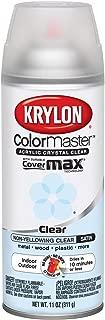 Krylon K05131307 ColorMaster Acrylic Crystal Clear, Satin, Clear, 11 oz.