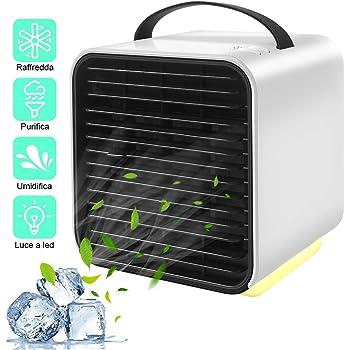 Mini enfriador de aire, aire acondicionado portátil personal ...