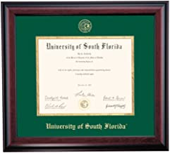 OCM Diploma Frames | University of South Florida Bull | Displays Diploma Certificate 8.5..