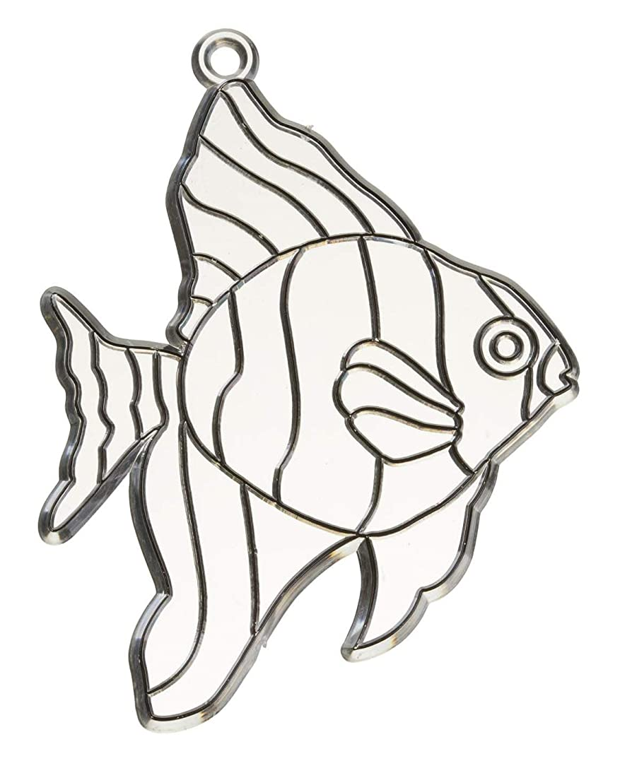 Darice 4 inches Tropical Sunfish suncatcher