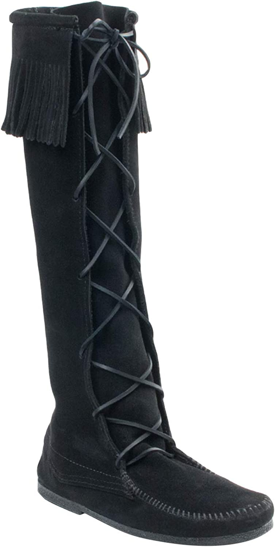 Minnetonka Men's Excellent Front Lace Boot High Knee shop