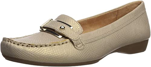 Naturalizer Wohommes Gisella Loafer Flat, Taupe, 7.5 N US US  pour pas cher