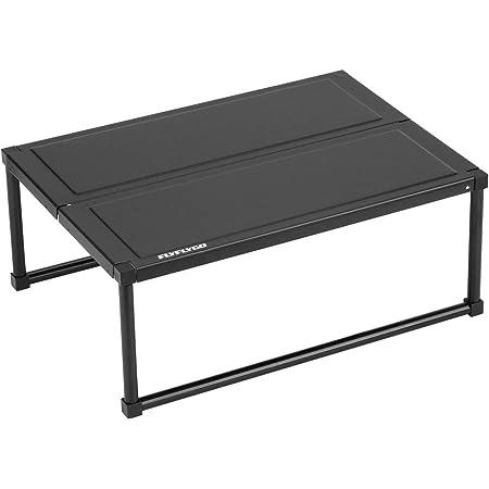 FLYFLYGO テーブル アルミ製 組み立て式 軽量テーブル ミニテーブル コンパクト収納 専用ケース付き キャンプ アウトドアに適用