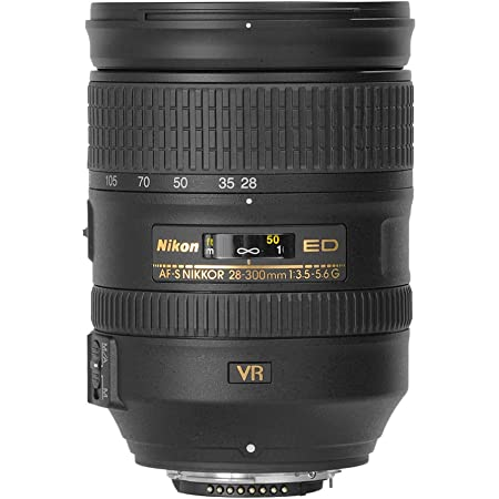 Nikon AF-S Nikkor 28-300mm f/3.5-5.6G ED VR Telephoto Zoom Lens for Nikon DSLR Camera