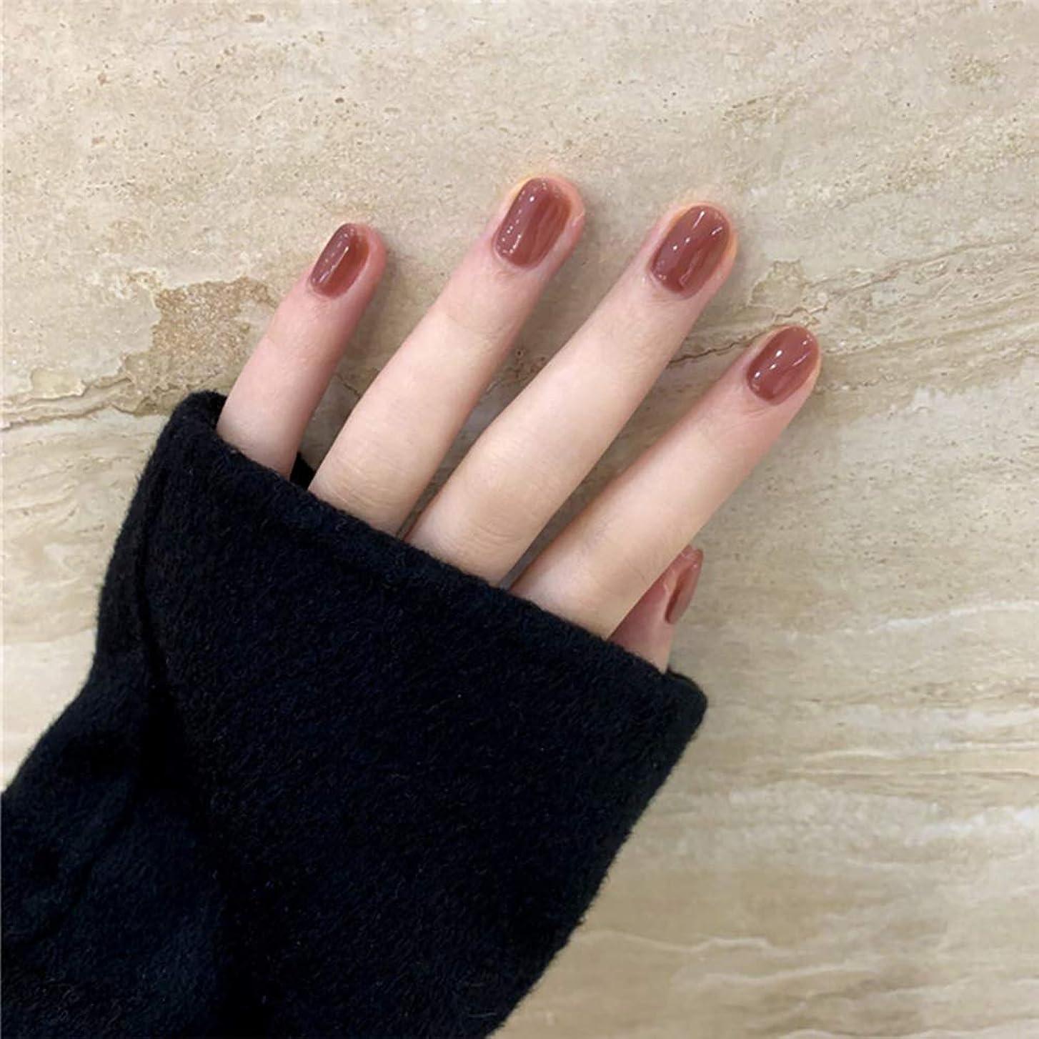 せっかち禁止するビジョンSIFASHION ins 人気の 24pcs ネイルチップ 可愛い優雅ネイル 長い偽の爪
