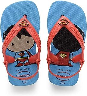 Havaianas Sandálias New Baby Heróis, Turquesa/Morango