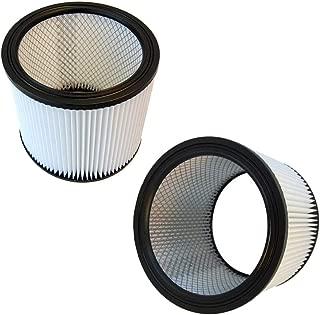 HQRP Cartridge Filter 2-Pack for Shop-Vac 86EM350 86L500A 86M350 86MT600C 86ST450 87L500A Vacuum Cleaner