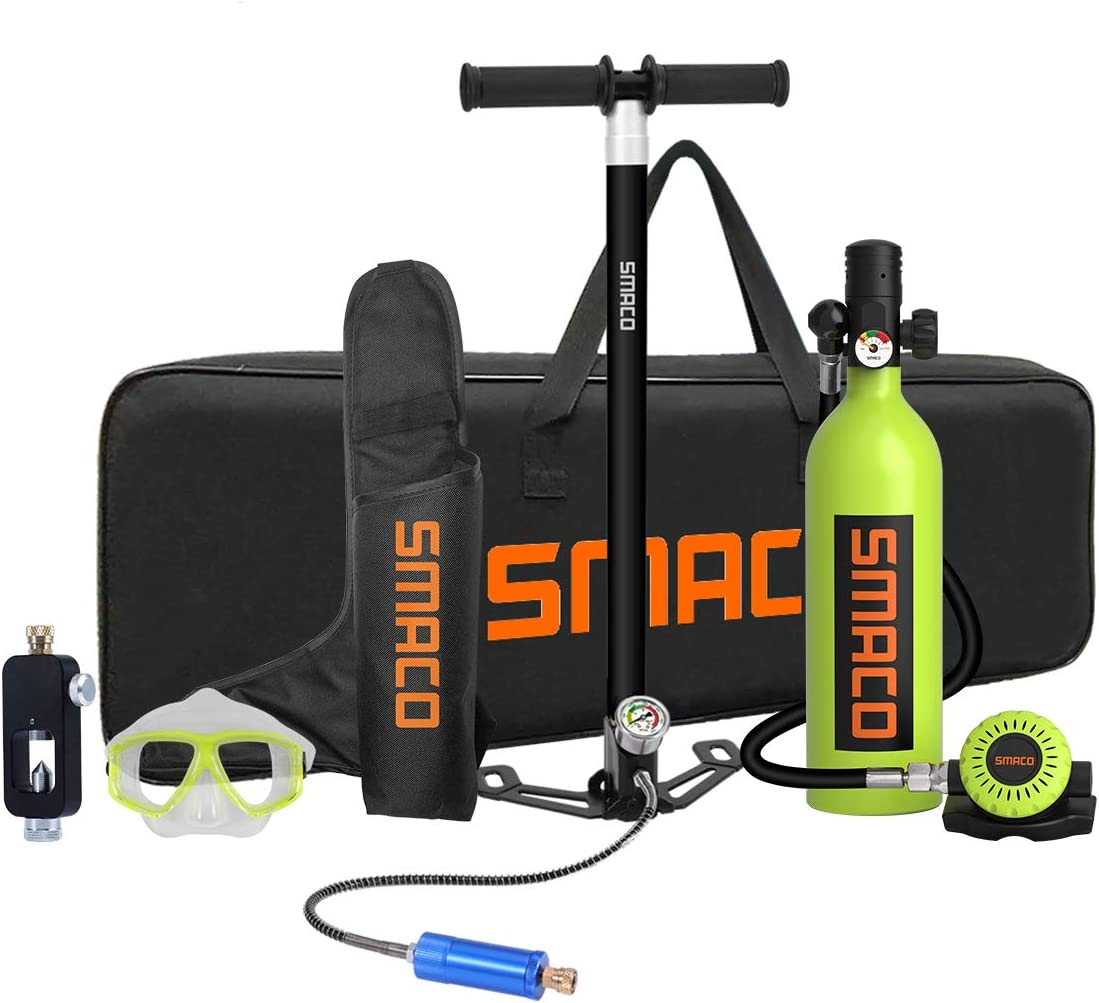 SMACO Scuba Tank Diving Gear for Oxygen Cy Wholesale National uniform free shipping Mini Diver