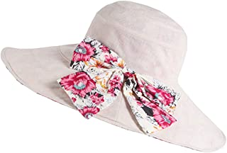 Hats Can Be Folded Cycling Cap Women's Version of Sun Protection UV Protection Cap Fashion (Color : Beige)
