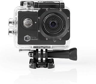 Nedis - Action Camera - Real 4K Ultra HD Picture Quality - Versatile Action Cam - WLAN - Waterproof Housing - WiFi - WLAN...
