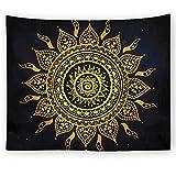 xkjymx Tela Colgante Tela Decorativa Escena del Sol Tapiz de impresión Imagen 5 230X150cm