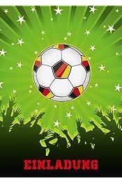 Amazon Es Invitaciones De Cumpleaños Futbol