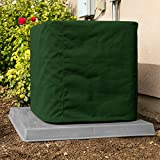 SugarHouse Outdoor Air Conditioner Cover - Ultimate Sunbrella Canvas - Made in The USA - 20-Year Warranty - 32' x 36' x 38' - Forest Green