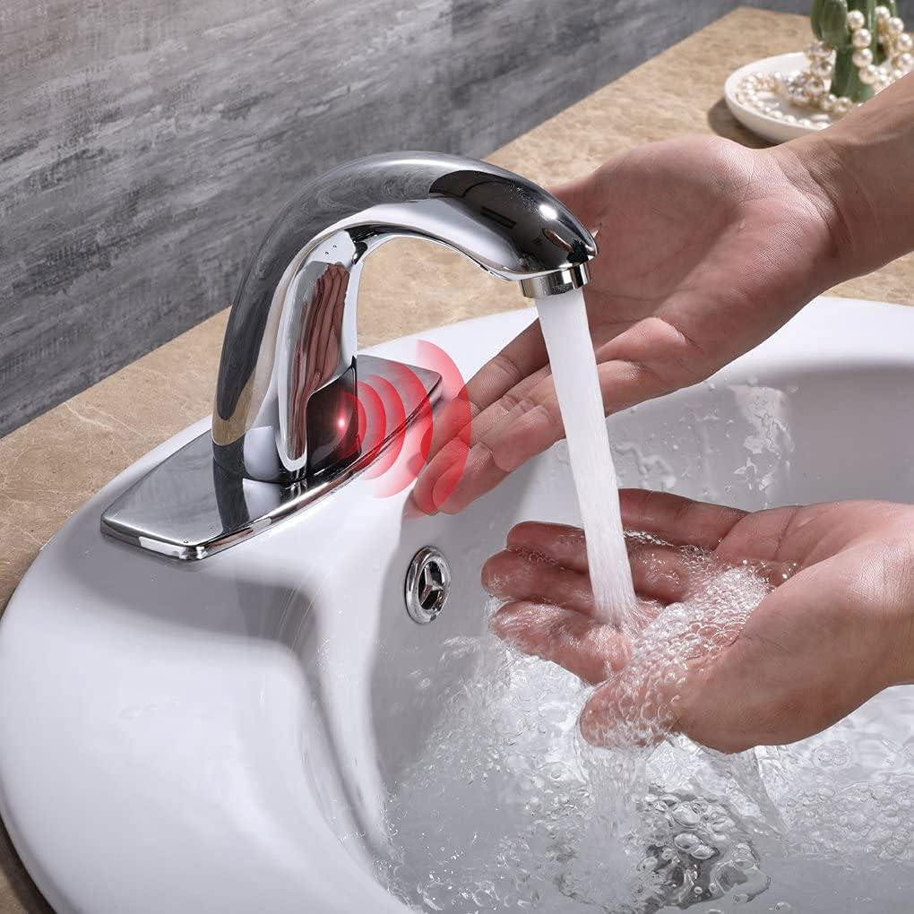 Charmingwater automatic sensors touchless bath faucet