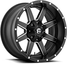 FUEL Maverick NBD-Matte BLK MIL Wheel with Painted (20 x 12. inches /5 x 114 mm, -18 mm Offset)