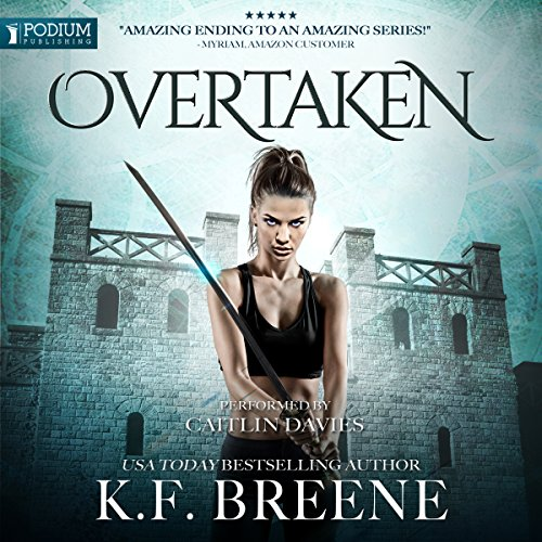 Overtaken audiobook cover art
