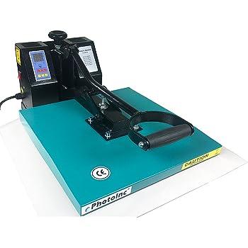 "ePhoto New Digital 15"" x 15"" T-Shirt Heat Transfer Press Sublimation Heat Press Machine 1515GB"