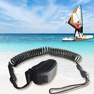 Generic Bodyboard Leash R/églable Planche de Surf Biceps Enroul/é Poignet Laisse avec Bouchon