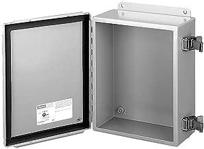 HOFFMAN ENCLOSURES A1008SC ENCLOSURE, JUNCTION BOX, STEEL, GRAY