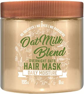 Aveeno Conditioner Oatmilk Blend Hair Mask 8 Ounce Jar (Pack of 2)