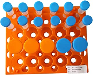 BIPEE Big Size Detachable Centrifuge Tube Racks for 10ml,15ml,50ml, 50-Well