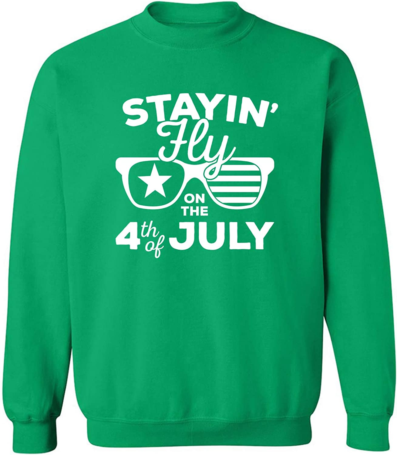 Staying Fly On The 4th of July Crewneck Sweatshirt